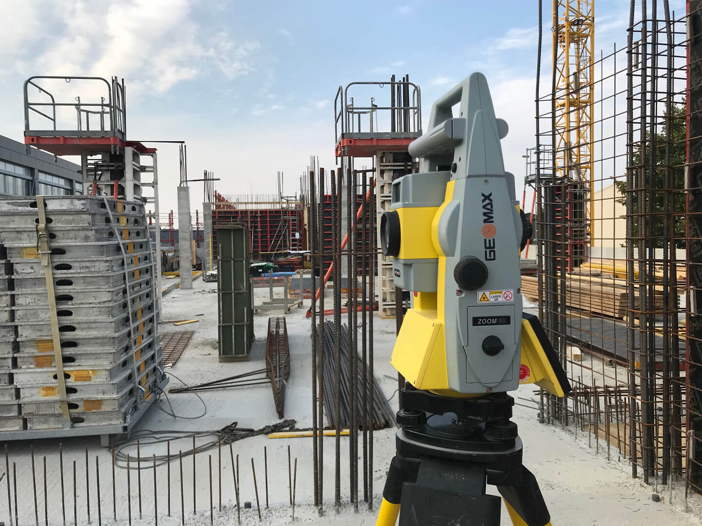 GeoMax Zoom90 Serie in Aktion