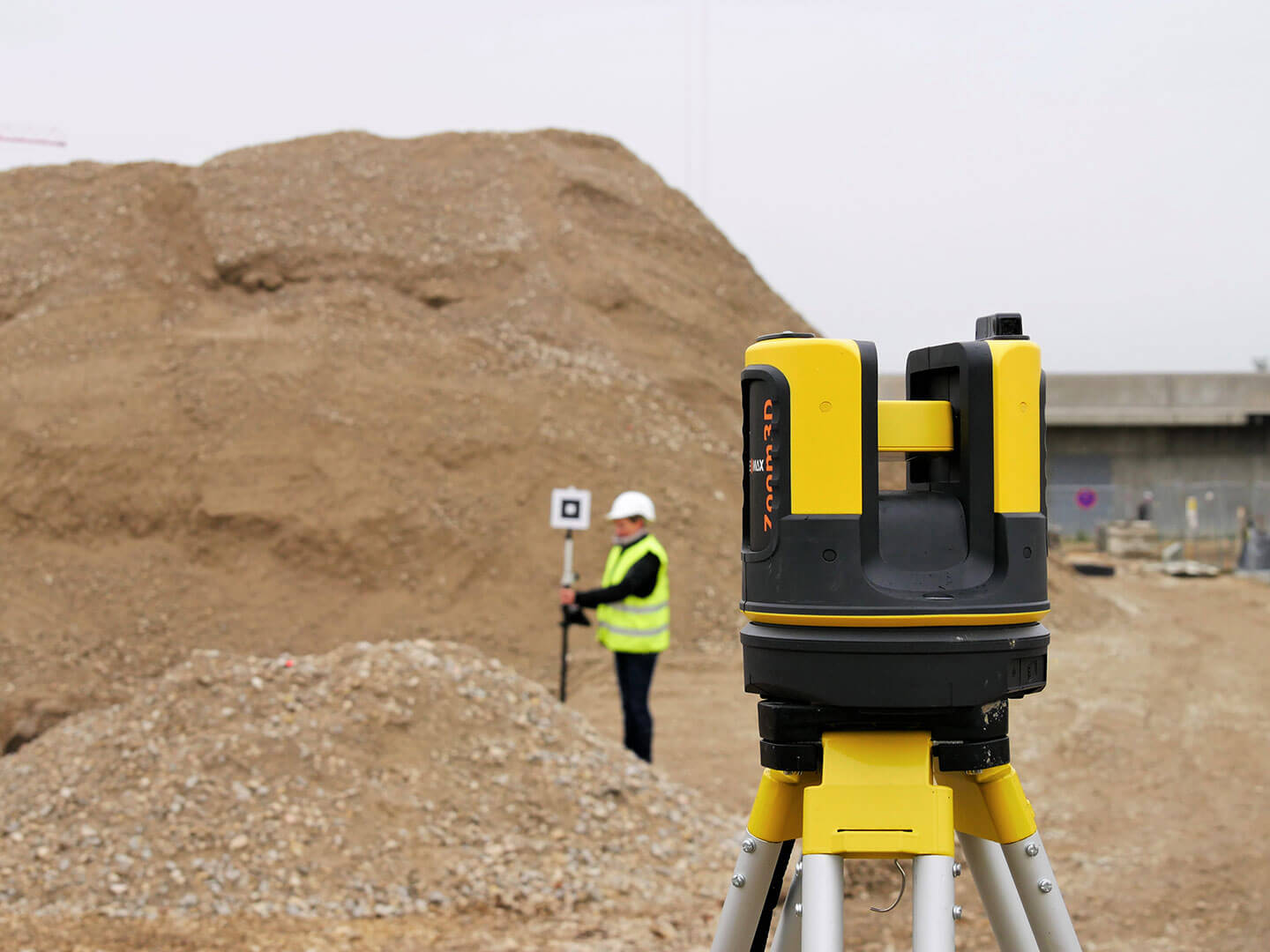 GeoMax Zoom3D in Aktion