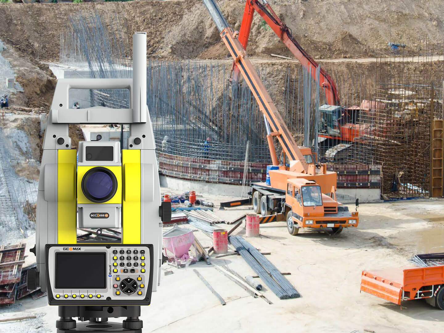 GeoMax Zoom70 Serie in Aktion